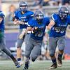 Brennan Brown runs the ball