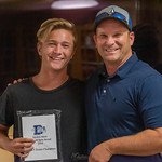 2019-05-21 Dixie HS Tennis Awards Banquet_0188 - Jaydon Short - Spin & Pin Award