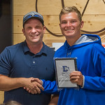 2019-05-21 Dixie HS Tennis Awards Banquet_0205 - Ethan Emerson - Best Net Player Award