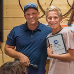 2019-05-21 Dixie HS Tennis Awards Banquet_0177 - Josh Barney - Fearless Award