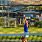 2019-08-27 Dixie HS Girls Tennis vs Hurricane - Callista_0587