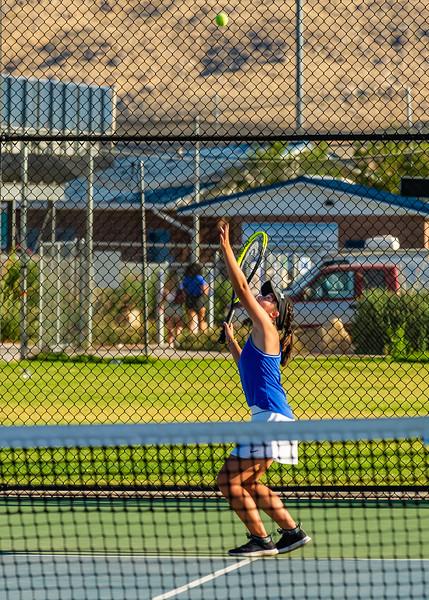 2019-08-27 Dixie HS Girls Tennis vs Hurricane - Callista_0584
