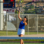 2019-08-27 Dixie HS Girls Tennis vs Hurricane - Callista_0574