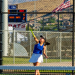 2019-08-27 Dixie HS Girls Tennis vs Hurricane - Callista_0575