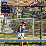 2019-08-27 Dixie HS Girls Tennis vs Hurricane - Callista_0577