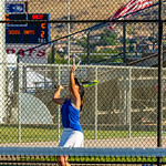 2019-08-27 Dixie HS Girls Tennis vs Hurricane - Callista_0572