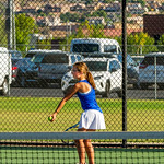 2019-08-27 Dixie HS Girls Tennis vs Hurricane - Eliza_0363