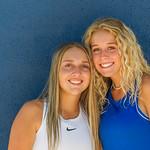 2019 Dixie High School Girls Tennis Team - Kalli & Carly