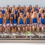 2019 Dixie High School Girls Tennis Team