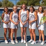 2019 Dixie High School Girls Varsity Tennis Team