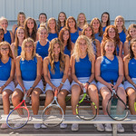 2019 Dixie High School Girls JV Tennis Team
