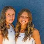2019 Dixie High School Girls Tennis Team - Ashley & Kylie