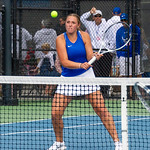2019-10-05 Dixie HS Girls Tennis at State Tournament_0314a - 1st Doubles - Ashley Kezos - 2nd Place