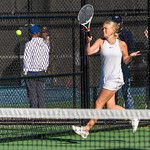 2019-10-05 Dixie HS Girls Tennis at State Tournament_0538a - 2nd Doubles - Becca Little - 2nd Place
