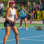 2019-10-05 Region 9 Girls Tennis Players at State Tournament_0225 - PV 2nd Doubles - Olivia Obray & Katrina Hafen - 1st Place