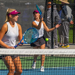 2019-10-05 Region 9 Girls Tennis Players at State Tournament_0234 - PV 2nd Doubles - Olivia Obray & Katrina Hafen - 1st Place
