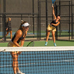 2019-10-05 Region 9 Girls Tennis Players at State Tournament_0131 - DH 1st Doubles - Faith Hess & Cassidy Kohler - 1st Place