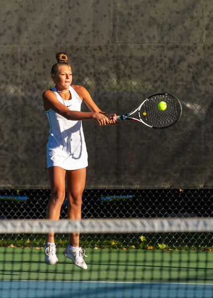 2019-10-05 Dixie HS Girls Tennis at State Tournament_0432a - 1st Singles - Kylie Kezos - Semi-finalist