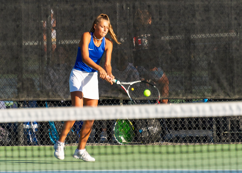 2019-10-05 Dixie HS Girls Tennis at State Tournament_0056a - 1st Singles - Kylie Kezos - Semi-finalist