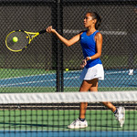 2019-10-05 Dixie HS Girls Tennis at State Tournament_0110a - 2nd Singles - Mychaella Wysneske - 2nd Place