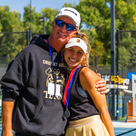 2019-10-05 Region 9 Girls Tennis Players at State Tournament_0329 - DH 1st Singles - Morgan Behymer - 2nd Place