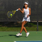 2019-10-05 Dixie HS Girls Tennis at State Tournament_0654a - 2nd Singles - Mychaella Wysneske - 2nd Place