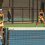 2019-10-05 Region 9 Girls Tennis Players at State Tournament_0113 - DH 1st Doubles - Faith Hess & Cassidy Kohler - 1st Place