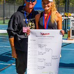 2019-10-05 Region 9 Girls Tennis Players at State Tournament_0310 - DH 3rd Singles - Tia Turley - 1st Place