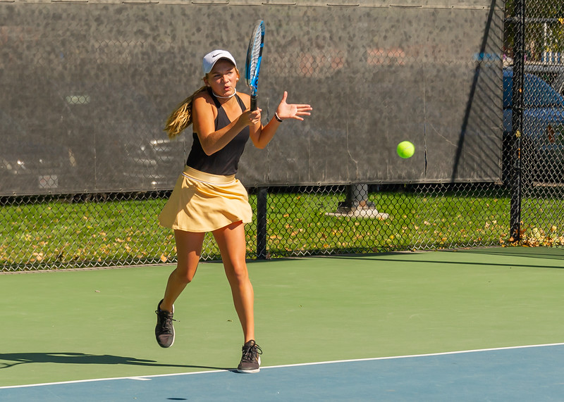 2019-10-05 Region 9 Girls Tennis Players at State Tournament_0088 - DH 2nd Singles - Mackenzie Telford - 1st Place