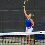 2019-10-05 Dixie HS Girls Tennis at State Tournament_0308a - 1st Doubles - Kalli Beckstrom - 2nd Place