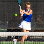 2019-10-05 Dixie HS Girls Tennis at State Tournament_0152a - 3rd Singles - Brynlee Cardall - 2nd Place