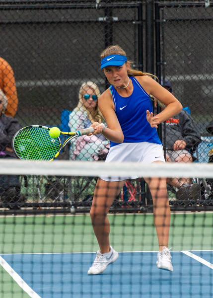 2019-10-05 Dixie HS Girls Tennis at State Tournament_0398a - 2nd Doubles - Sally Fraser - 2nd Place