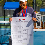 2019-10-05 Region 9 Girls Tennis Players at State Tournament_0330 - Ridgeline 1st Singles - Naya Tillitt - 1st Place