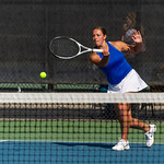 2019-10-05 Dixie HS Girls Tennis at State Tournament_0228a - 1st Doubles - Ashley Kezos - 2nd Place