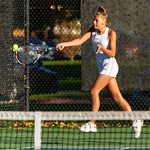 2019-10-05 Dixie HS Girls Tennis at State Tournament_0456a - 1st Singles - Kylie Kezos - Semi-finalist
