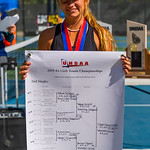 2019-10-05 Region 9 Girls Tennis Players at State Tournament_0315 - DH 2nd Singles - Mackenzie Telford - 1st Place