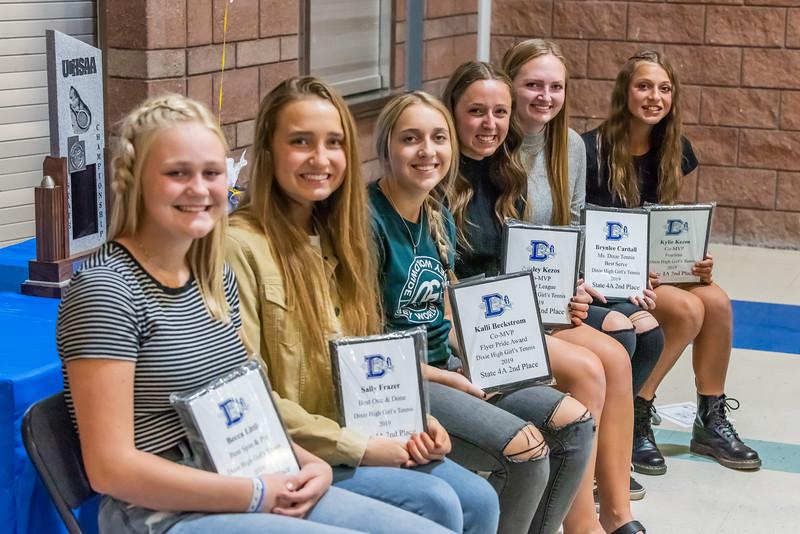 2019-11-13 Dixie HS Girls Tennis Awards Banquet_0551