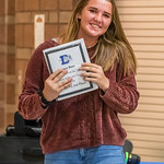 JV Player of the Year Award - Sara