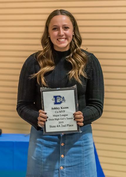 Co-MVP & Major League Award - Ashley