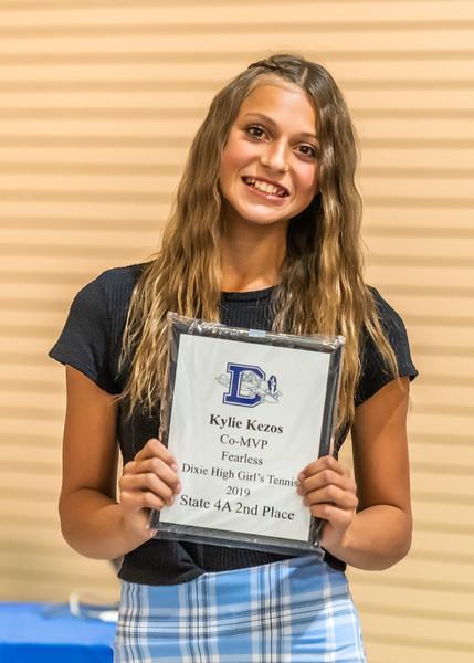 Co-MVP & Fearless Award - Kylie