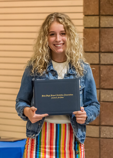 Academic All State Award - Carly