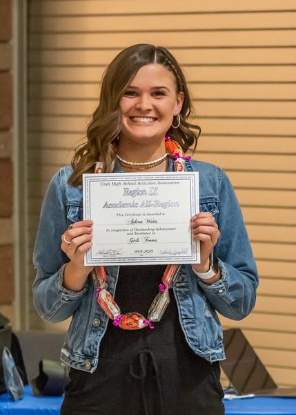 Academic All-Region Award - Ashton