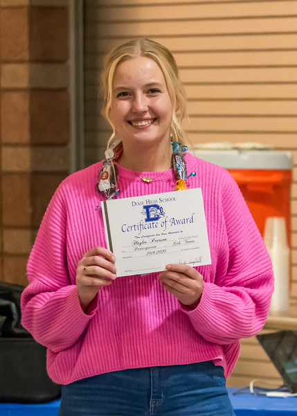 2019-11-13 Dixie HS Girls Tennis Awards Banquet_0111
