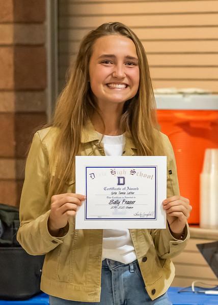 2019-11-13 Dixie HS Girls Tennis Awards Banquet_0206