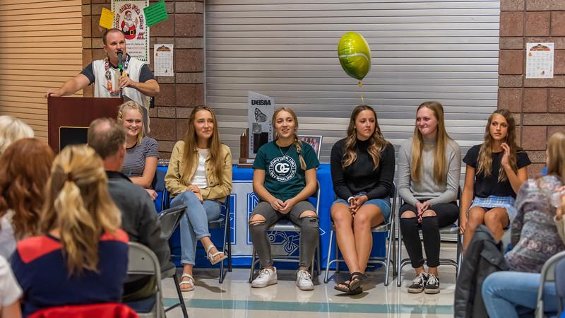 2019-11-13 Dixie HS Girls Tennis Awards Banquet_0347