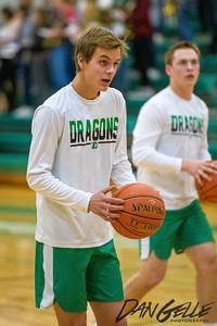 Dragon Boys Basketball vs Maple Lake