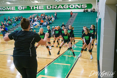 Dragons Volleyball vs MACA