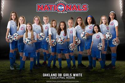 Nationals Oakland 10 White 2018-2019 2