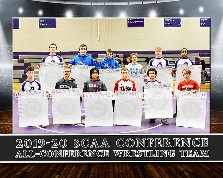 SCAA All Conference Team 8x10 Horizontal