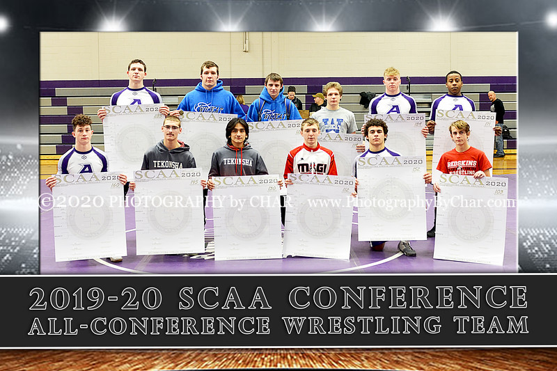 2019-20 SCAA All Conference Team 12x18 vert